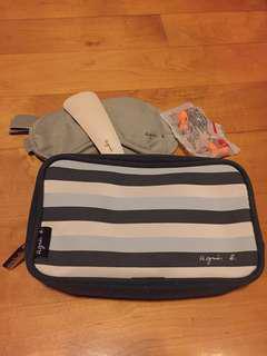Agnes b 化妝袋 travel set