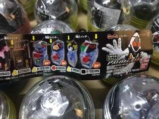 Bandai 幪面超人 Kamen Rider Fourze 假面騎士 Masked Rider Fourze 11 道具 ¥300 扭蛋 原袋40粒