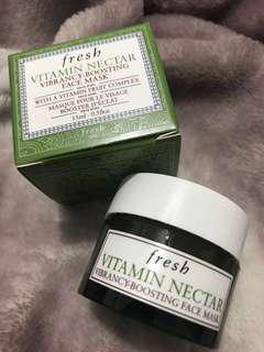 Fresh vitamin nectar vibrancy boosting face mask 15ml
