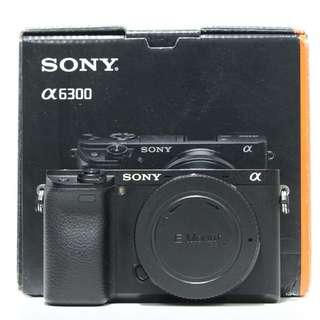 Sony a6300 Mirrorless Digital Camera Body Only