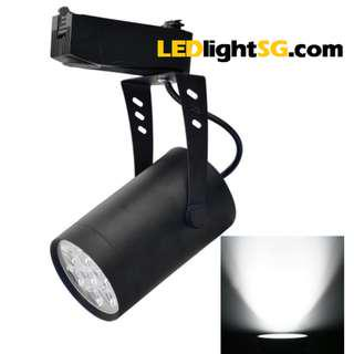 7W LED Track Spot Light Taiwan Chip 1 year warranty White / Warm White