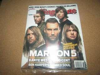 Maroon 5 in Rolling Stone magazine