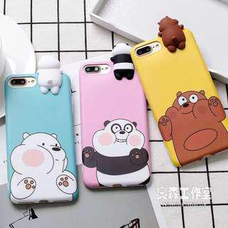 🚚 [PO] we bare bear phone case