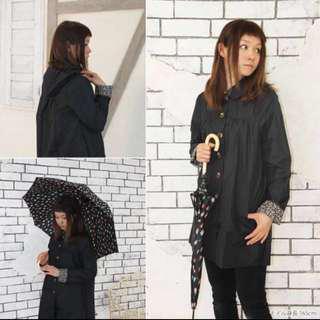 💦雨季必備-日系外套式防水雨衣