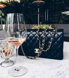 Chanel flap bag large