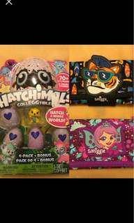 Hatchimal and wallets