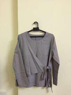 RM20 Wrap Kimono