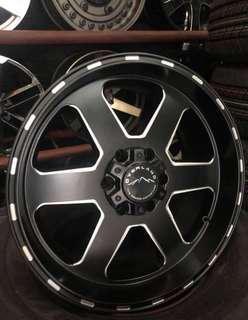 """•Mags 20"""" Overland 6x139  •with 265/50x20 Wanli  •Brandnew for Montero, Hilux, Strada , Everest, Is"""