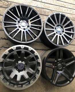 •BLACK RHINO 6x139  •with 265/50x20 Toyo Tires ophat2 all terrain  •brandnew
