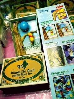 全新中古 Winnie The Poon 維尼情景 火柴盒 $98