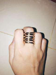 Spiral high Ring Gold