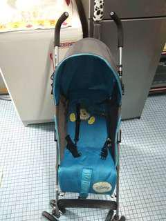 Stroller baby Mickey mouse