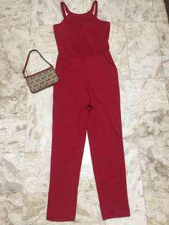 Red jumsuit