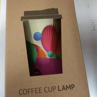 COFFEE CUP LAMP , NOW爆谷台