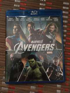 The Avengers 2012 Blu-ray
