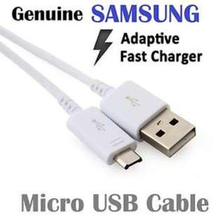 Samsung Adaptive Fast Charger Micro USB cable (black/white)