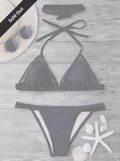 Zaful mesh string bikini S