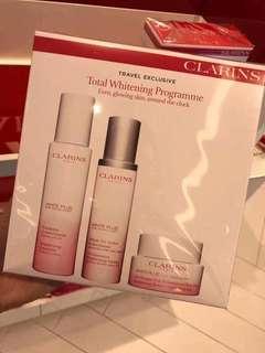 Clarins光感透白系列—美白保濕套裝
