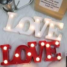 🚚 LOVE字母燈