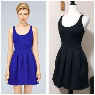 Aritzia Wilfred 0 Black Pompe Dress