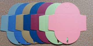 Gift Envelopes 7pcs 7 colors (Free Normal Mail or Self Collect)
