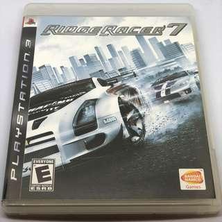 [包郵] PS3 Ridge Racer 7 賽車遊戲
