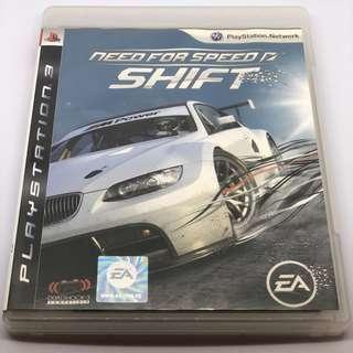 [包郵] PS3 Need for Speed NFS Shift