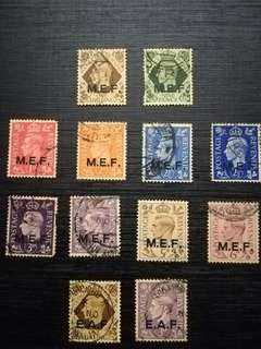 Middle East Forces (MEF) & East Africa Forces (EAF) stamp