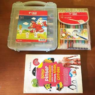 Take All Crayon Titi + Buku Pintar Anak