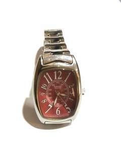 jam casio merah