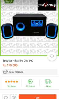 Advance speaker duo 600