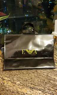 🤩🤩 Rare $168 Emporio Armani shopping bag included local postage EA 環保購物袋,有拉鍊。包郵