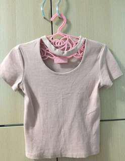BABY PINK TOP ; $7