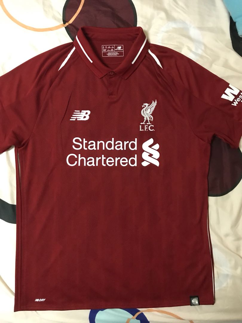 dd12c471cdd 100% Authentic New Season 2018 19 Liverpool Home Kit.BNWT