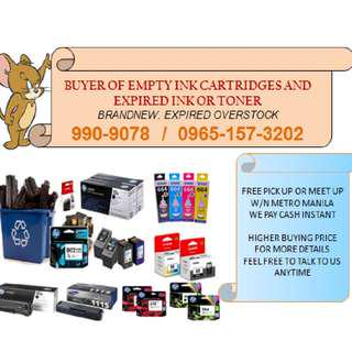 Highest Price Buyer of Expired and Empty Ink Cartridges