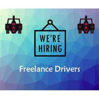Freelance Valet Driver NEEDED! Start Immediately!!