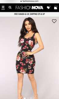 Floral dress Fashion Nova