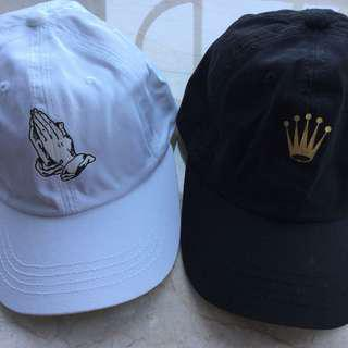 Royal Crown & Prayer Caps