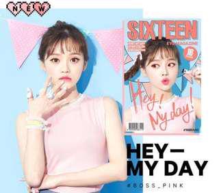 READY STOCKS | 16brand Eye Magazine Eyeshadow #4 Hey My Day