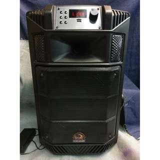 *二手清倉*Apl.Dem TP-H1267 AMP 音箱 揚聲器 支援連接SD / USB /藍牙