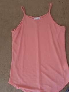 Pink glittery top