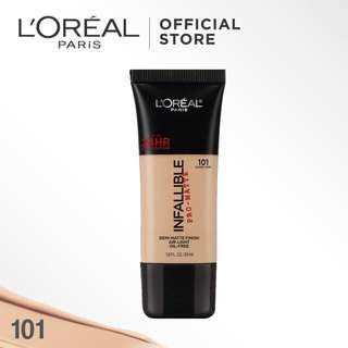 Loreal infallible pro-mate foundation classic ivory (101) / l'oreal paris infallible foundation 101