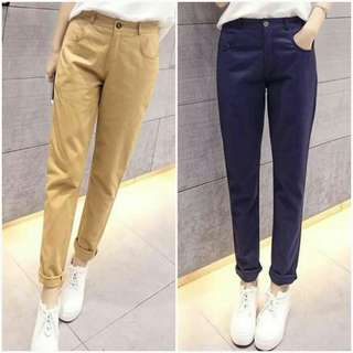 🐋Denim plain pants