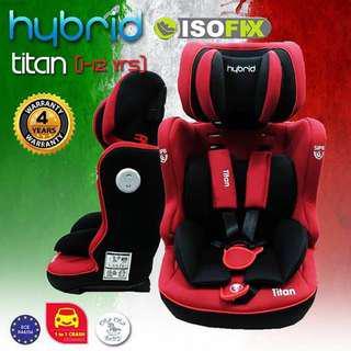 Hybrid Titan Booster Car Seat