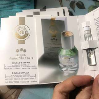 Roger & Gallet double extract 1.5ml