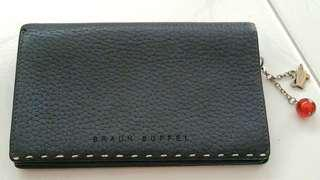 Authentic Braun Buffel Black Leather Wallet