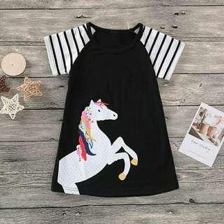 Unicorn casual dress