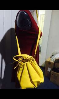 Sling bag yellow free sf within MM