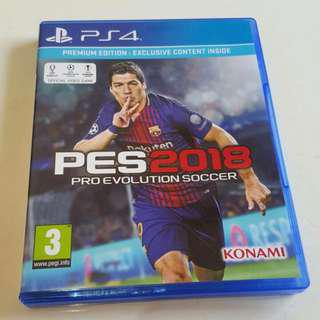 CD & DVD PS4 PES 2018