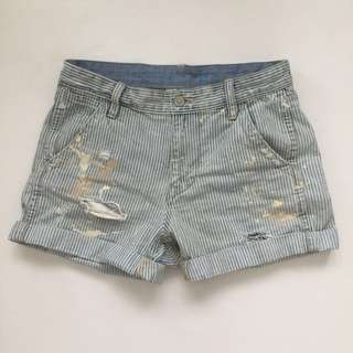 DENIM & SUPPLY RALPH LAUREN Relaxed Cut-Off Tussey Shorts